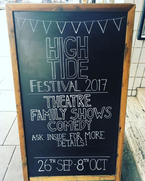 HighTide started life as a three-day festival.