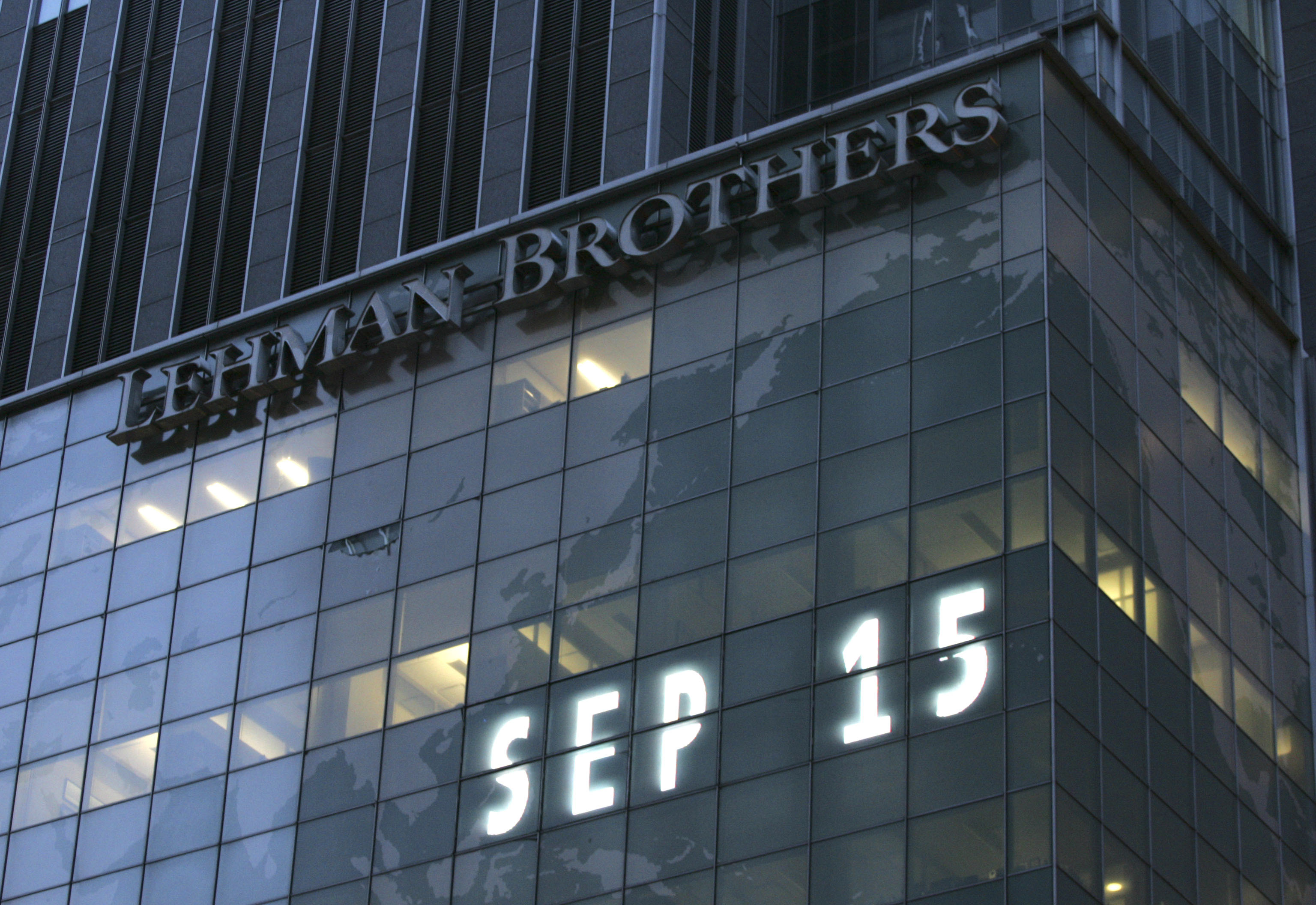 On 15th September 2008, Lehman Brothers filed for the biggest bankruptcy in history