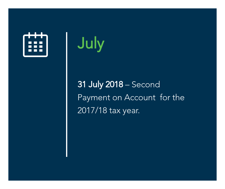 July key tax dates