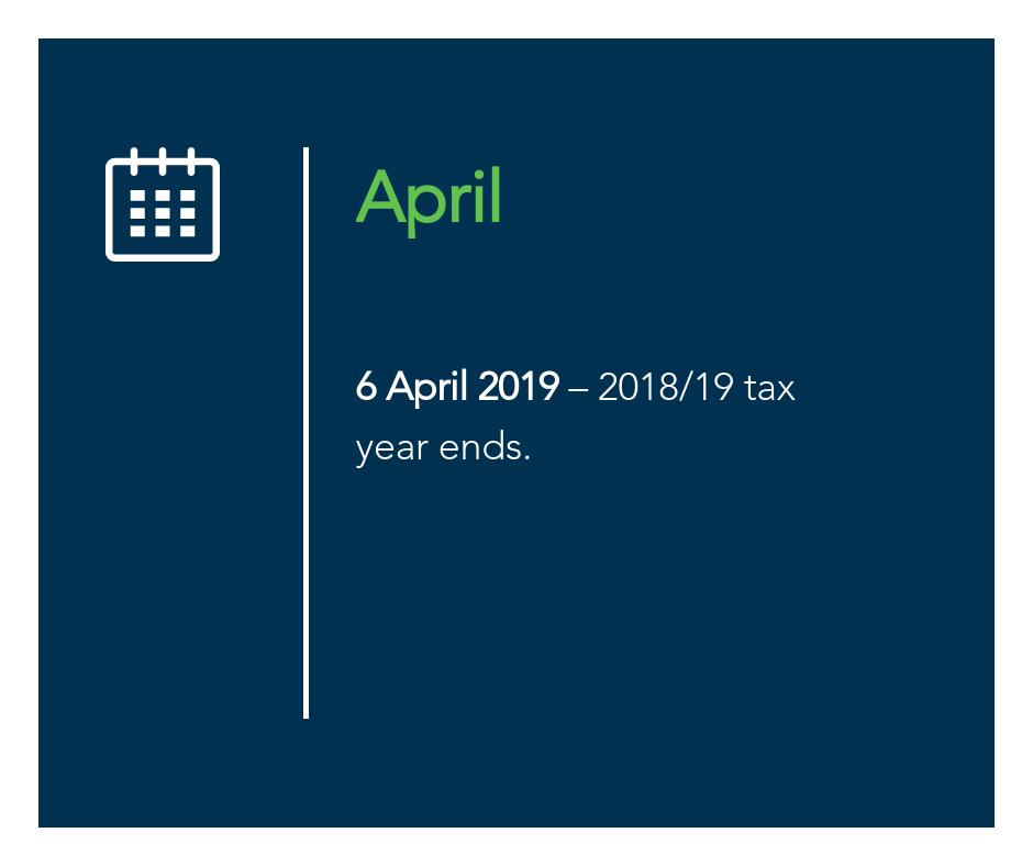 April key tax dates